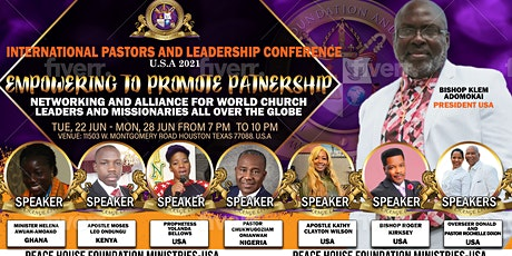 International Pastors and Leadership conference. tickets