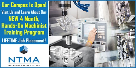 March Open House - Machinist Training Enrollment Event tickets