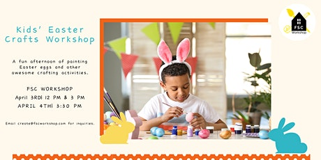 Kids Easter Crafting Workshop Event! tickets