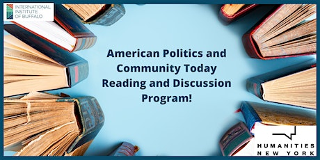 Reading & Discussion: American Politics and Community Today tickets