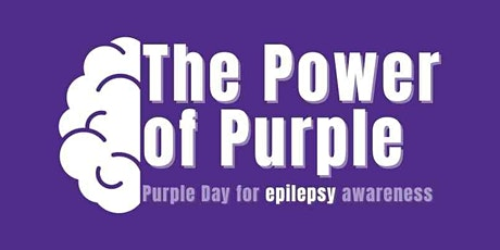 The Power of Purple Webinar Series for Epilepsy tickets