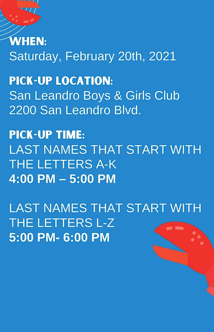 San Leandro Boys & Girls Clubs Annual Crab Feed  (Drive-Thru) image