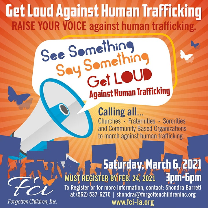 Get Loud Against Human Trafficking image
