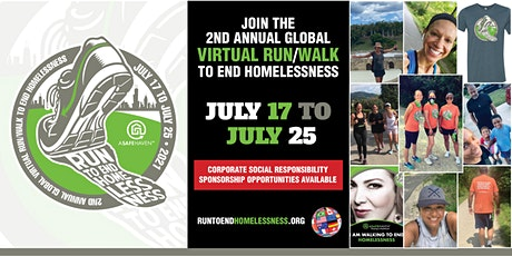 2nd Annual Global Virtual Run/Walk To End Homelessness tickets