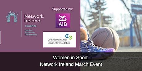 Network Ireland Limerick Women in Sport - March Event tickets