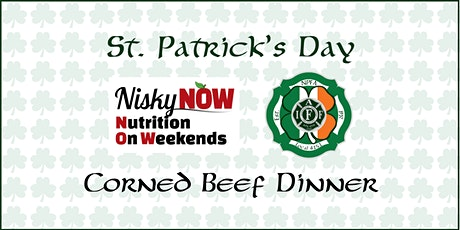 St. Patrick's Day Corned Beef Dinner tickets