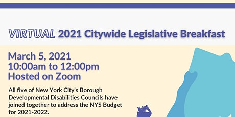 Virtual 2021 Citywide Legislative Breakfast tickets