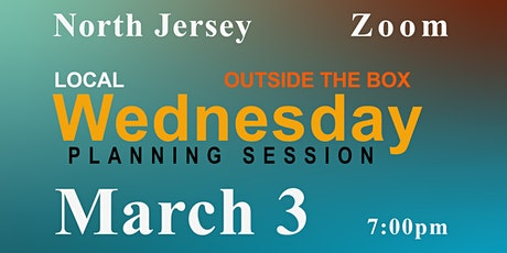 North Jersey ~ Planning Session ~ Zoom tickets