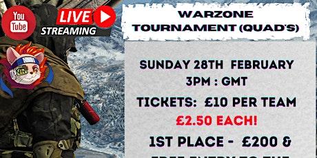 TOUK: WarZone Quads Survival BR Tournament tickets