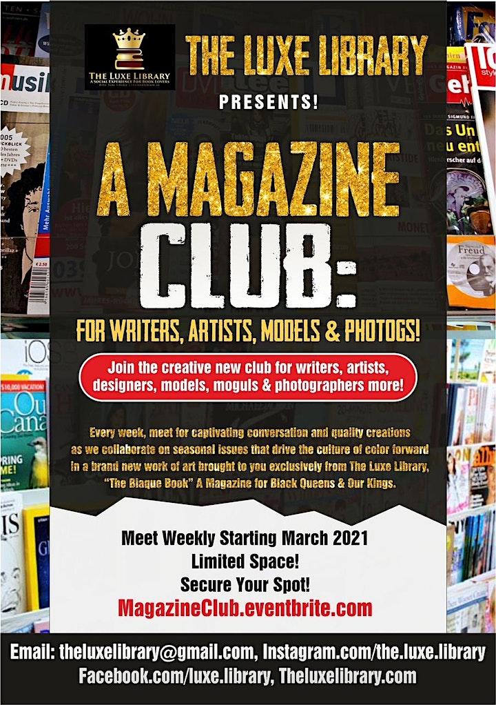 Join the Magazine Magic Club! image