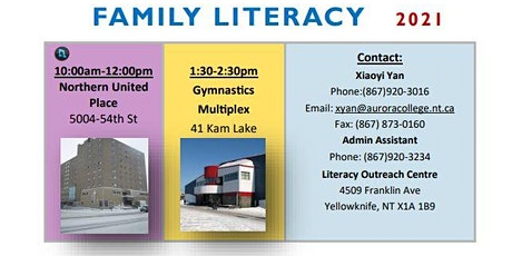 LOC  Family Literacy Program - Gymnastics tickets