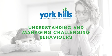 Understanding and Managing Challenging Behaviours tickets