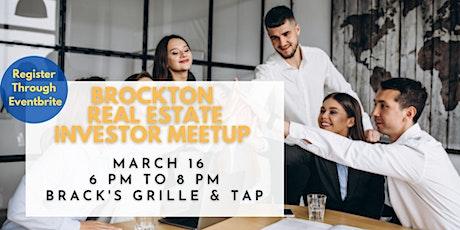 Brockton Real Estate Investors MeetUp tickets