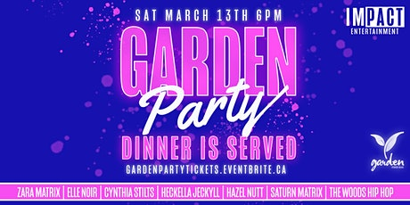 Garden Party - Dinner is Served tickets