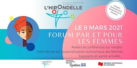 Forum - Par et Pour les femmes billets