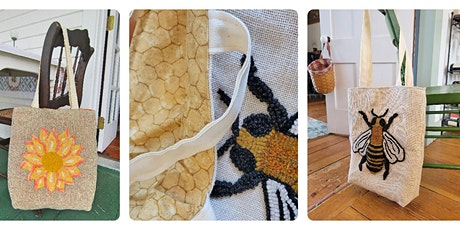 Hooked Tote Bag Make-Along!  TWO Sessions on Zoom tickets