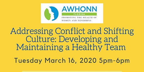 Addressing Conflict and Shifting Culture. Speaker Dr. Michelle Dusseau tickets
