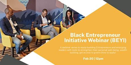 The EXChange -Forum 20/21 (by Black Youth Entrepreneurs) tickets