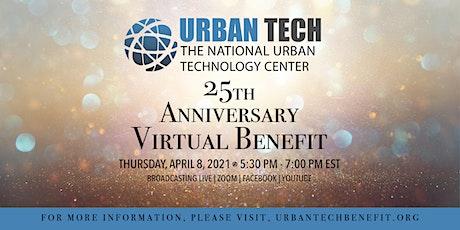 Urban Tech's 25th Anniversary Virtual Benefit tickets