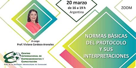 NORMAS BÁSICAS DEL PROTOCOLO Y SUS INTERPRETACIONES entradas
