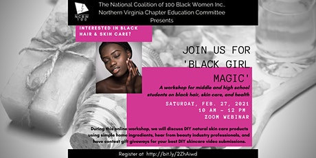 Black Girl Magic: Workshop on Black Hair, Skin Care, and Health tickets