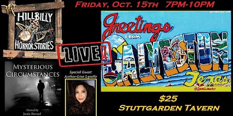 Hillbilly Horror Stories & Mysterious Circumstances Live in Galveston tickets