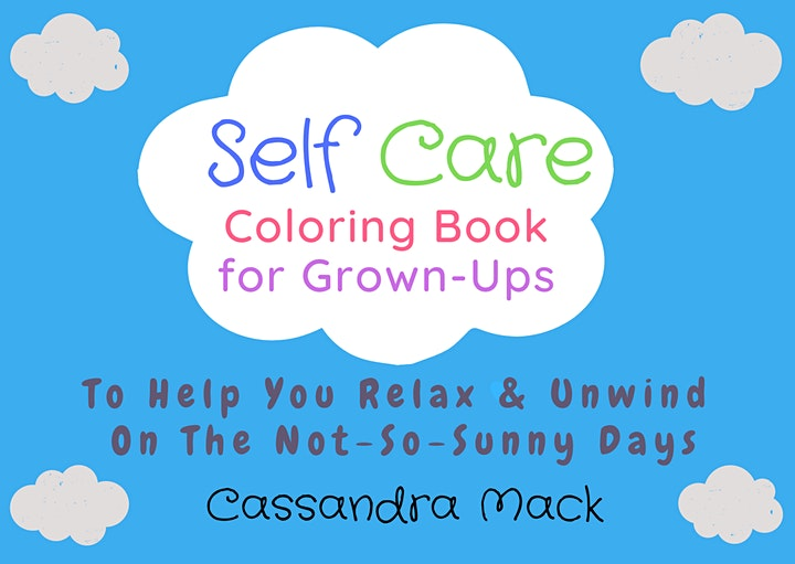 Color & Sip Therapeutic Group Coaching Session with  Cassandra Mack image