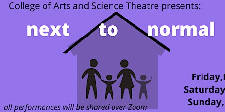 """CAST Presents """"next to normal"""" tickets"""