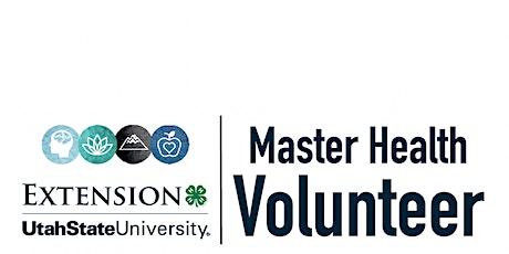 Master Health Volunteer August 2021 Training tickets