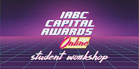 2021 IABC Edmonton Capital Awards Student Workshop tickets