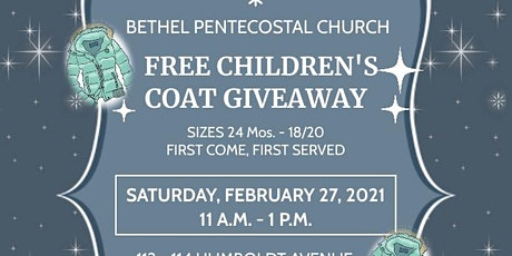 Children's Coat Giveaway tickets
