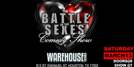 VALENTINE'S DAY BATTLE OF THE SEXES COMEDY SHOW tickets