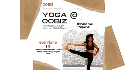 Rooftop Yoga @ CoBiz Richmond tickets