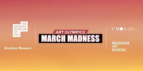 Art Olympics: March Madness - Milwaukee  vs. Columbus biglietti