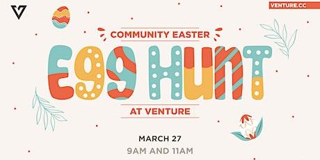 Community Easter Egg Hunt @ Venture tickets