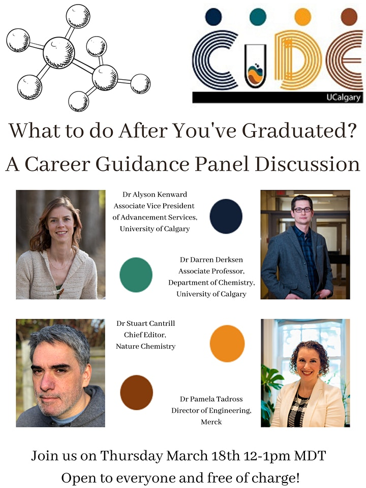 What to do After You've Graduated? A Career Guidance Panel Discussion. image