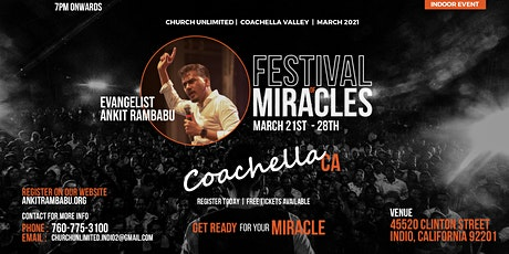 Festival of Miracles Coachella, CA 2021 tickets