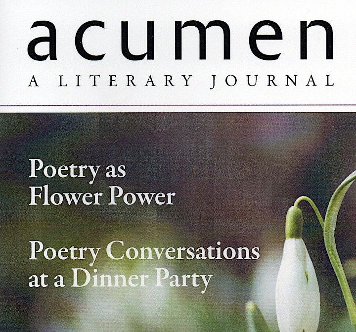 Acumen 100 Poetry Celebration image