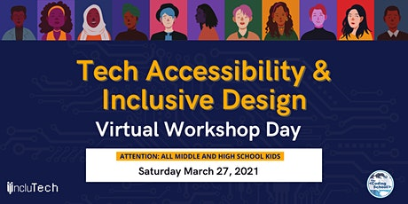 IncluTech at The Coding School Presents: Inclusive Design Workshop Day tickets