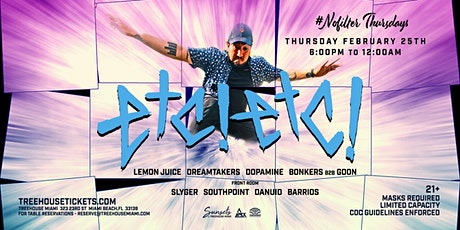 #NoFilterThursdays @ Treehouse Miami w/ ETC!ETC! tickets