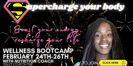Supercharge your body tickets