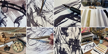 Make Black Ink ! Online workshop in Oak Gall Ink making tickets