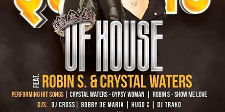 The Queens of House Music - Robin S & Crystal Waters Live! tickets