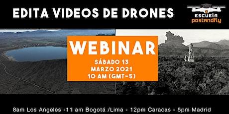 Edita Videos de Drones entradas