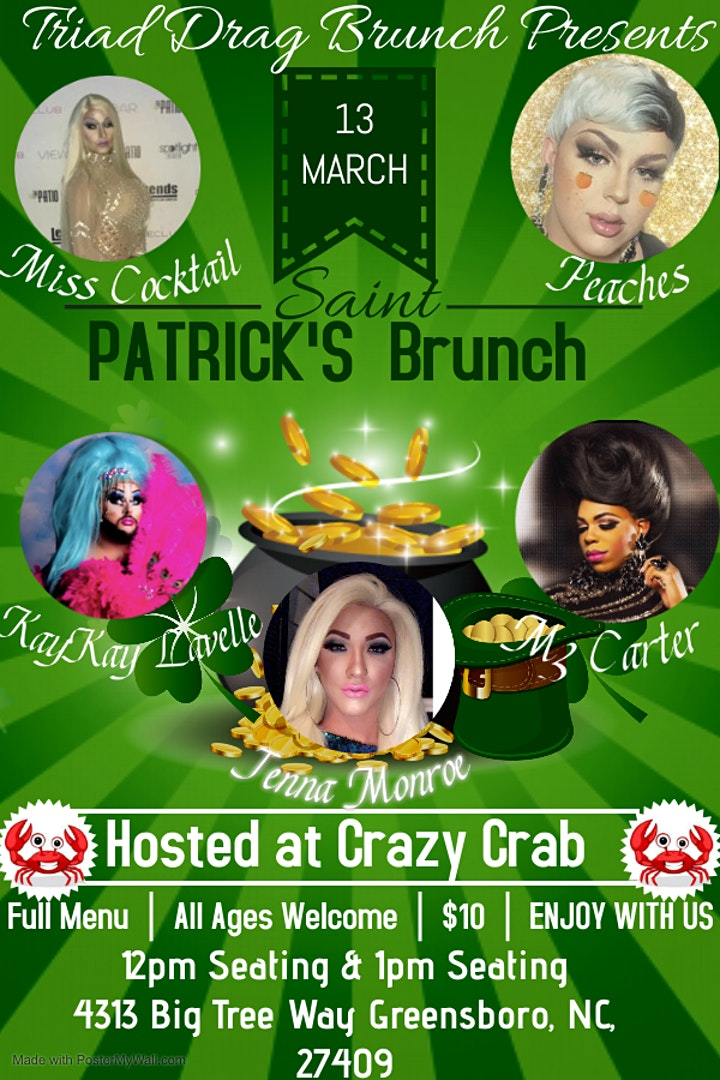 Traid Drag Brunch 11:30am Seating and 2pm Seating image