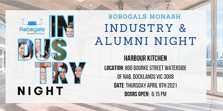 Robogals Monash Industry Night & Alumni Night 2021 tickets