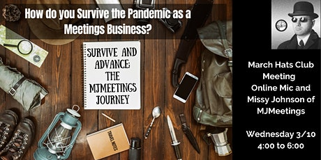 Hats Club - Survive and Advance; MJMeetings Journey through the Pandemic tickets