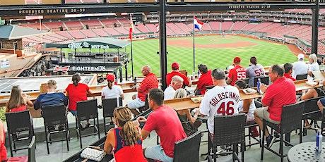 Bud Deck Baseball: Reds at Cardinals (4/24) tickets