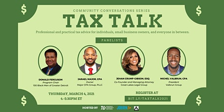 Community Conversations: Tax Talk tickets
