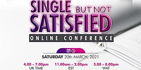 Mature Christian Singles - Online Conference tickets